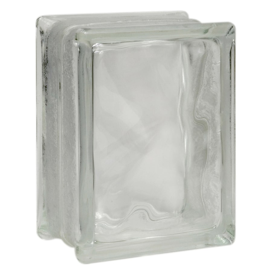 Pittsburgh Corning Decora Premiere Glass Block (Common: 8-in H x 6-in W x 4-in D; Actual: 7.75-in H x 5.75-in W x 3.87-in D)