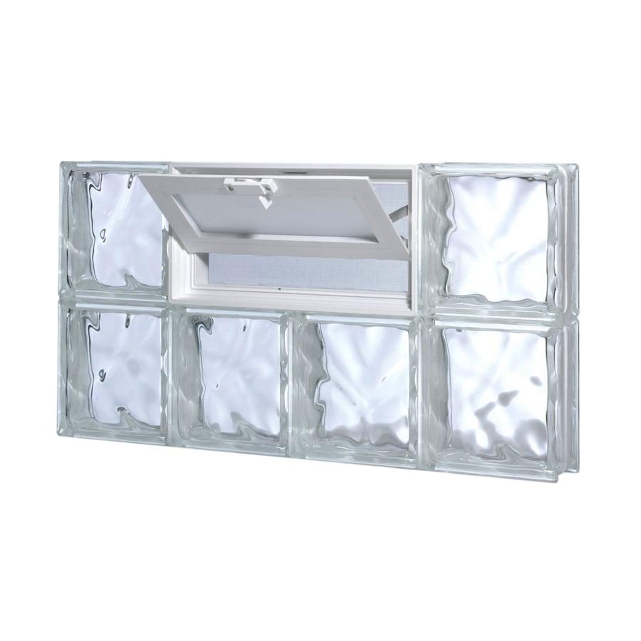 Shop pittsburgh corning guardwise decora vented frameless for Acrylic block window