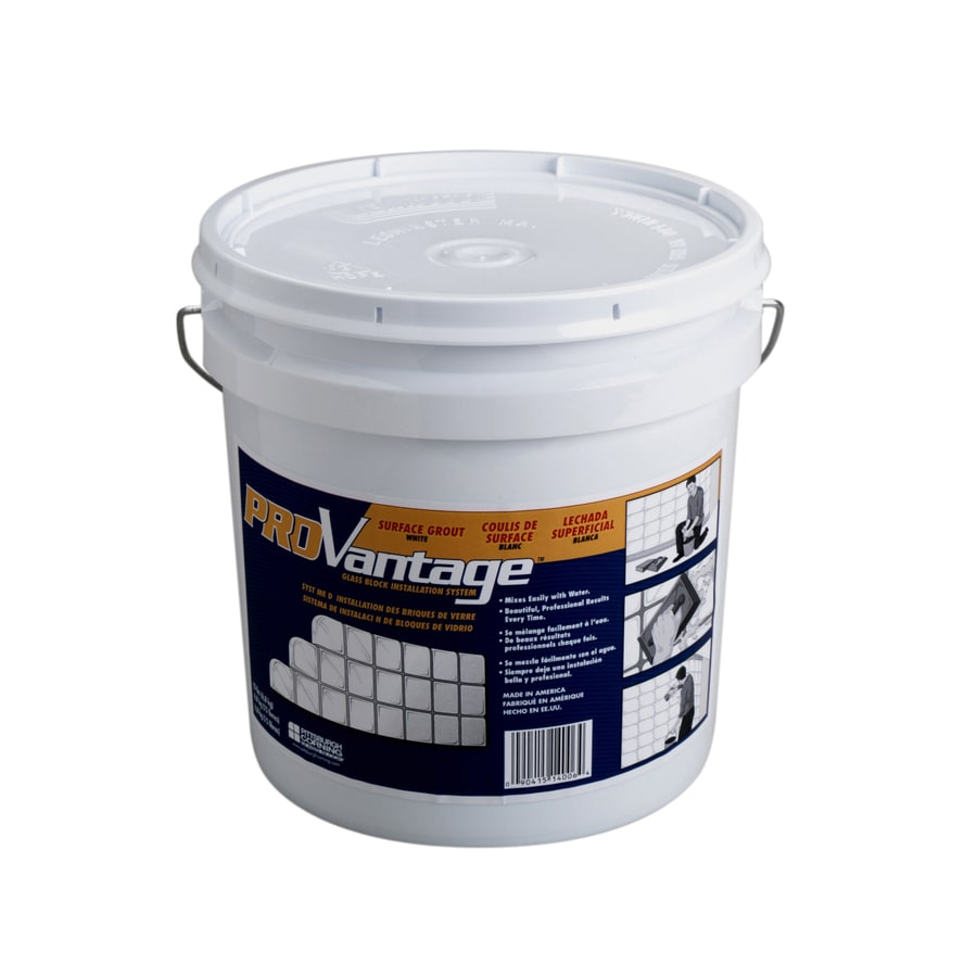 Pittsburgh Corning ProVantage 15-lb White Sanded Powder Grout