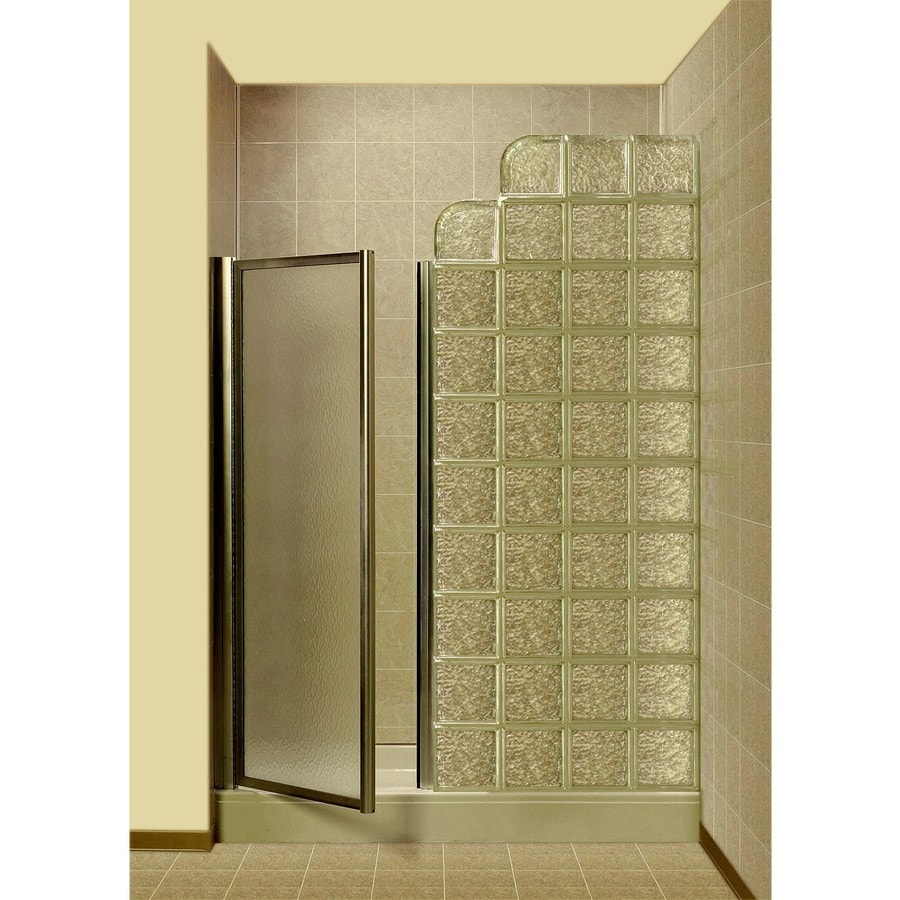 Shop pittsburgh corning premiere series icescapes white for Acrylic block wall