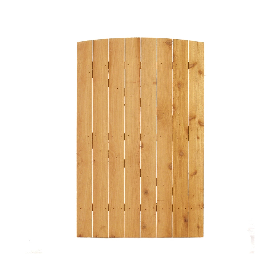 (Common: 6-ft x 3.75-ft; Actual: 6-ft x 3.75-ft) Cedar Privacy Gate