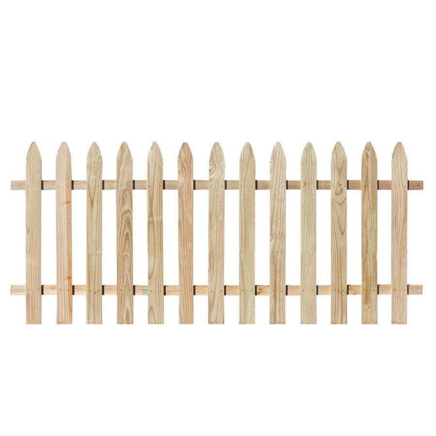 Severe Weather (Common: 3-ft x 8-ft; Actual: 3-ft x 8-ft) Natural Cedar Semi-privacy Fence Panel
