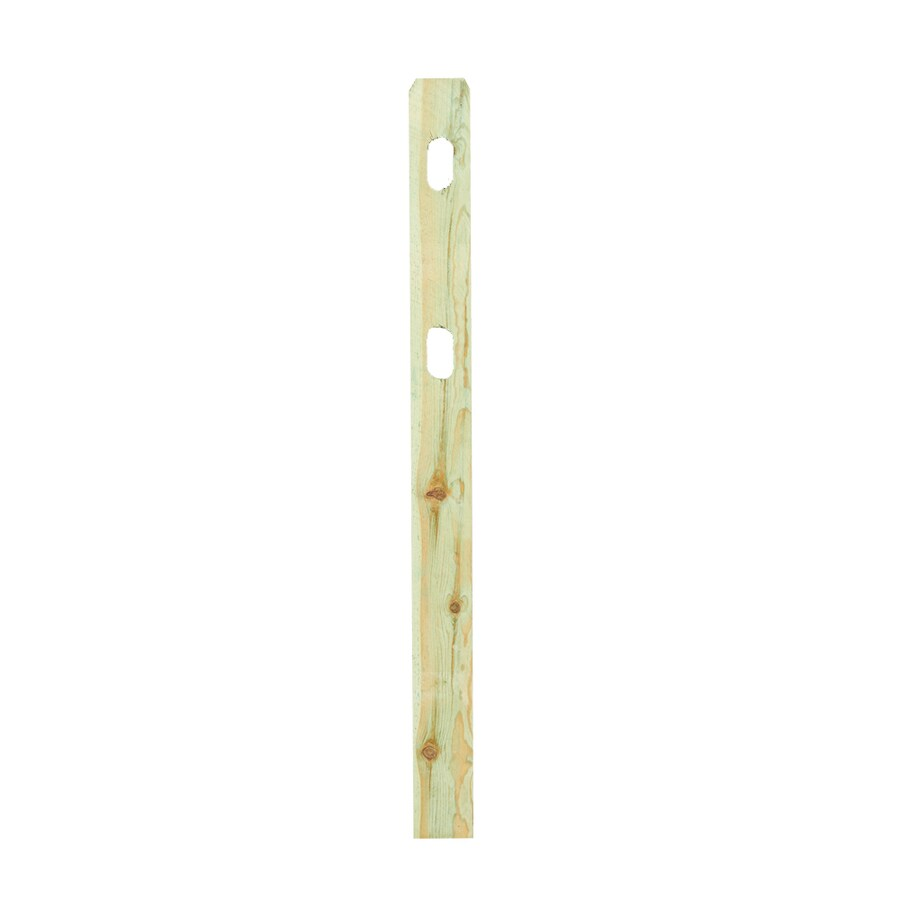 (Common: 5-1/2-in x 2-1/2-in x 6-ft; Actual: 5.875-in x 2.5-in x 6-ft) Natural Pressure Treated Pine Line Post