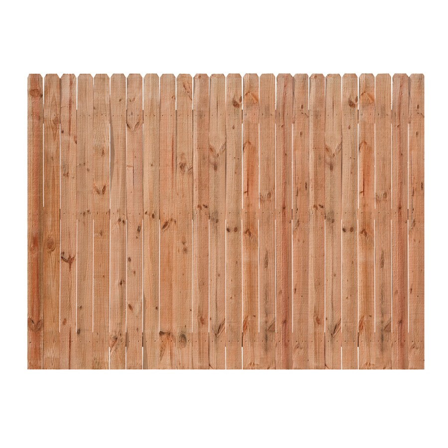 Severe Weather (Actual: 6-ft x 8-ft) Color Treated Pressure Treated   Pine Privacy  Fence Panel