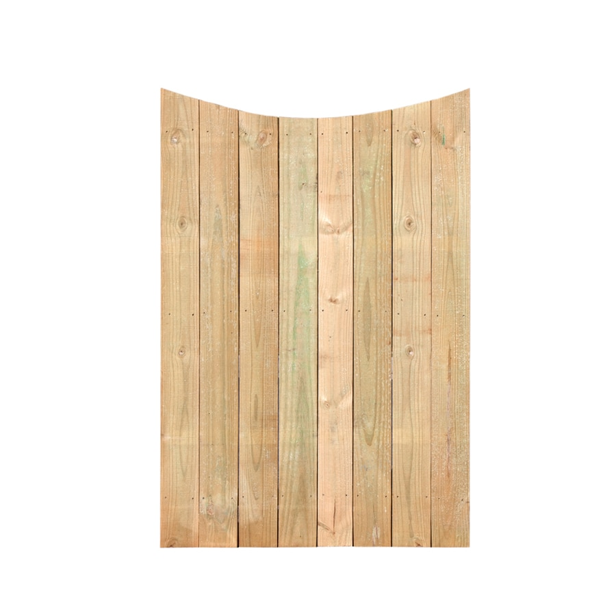 (Common: 6-ft x 3.75-ft; Actual: 6-ft x 3.75-ft) Natural Pressure Treated Southern Yellow Pine Privacy Gate