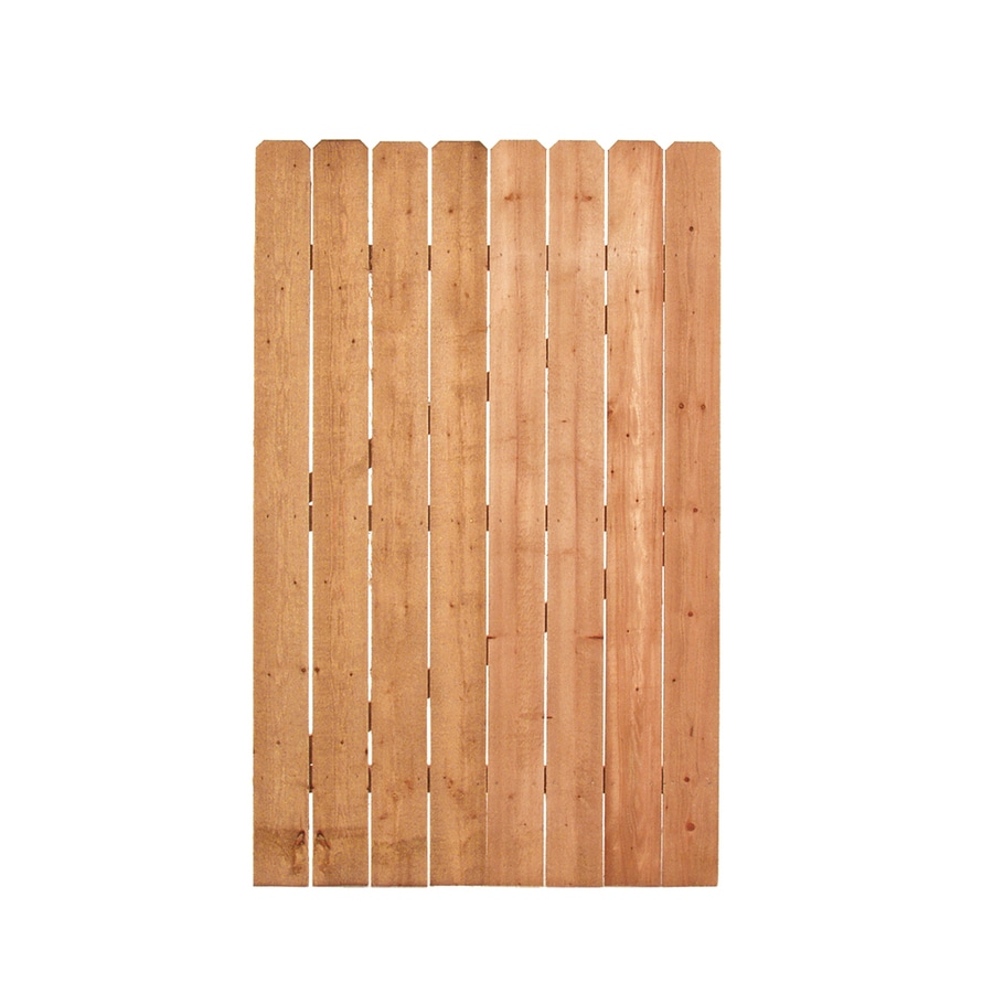 (Common: 6-ft x 3.75-ft; Actual: 6-ft x 3.75-ft) Pressure Treated Pine Privacy Gate