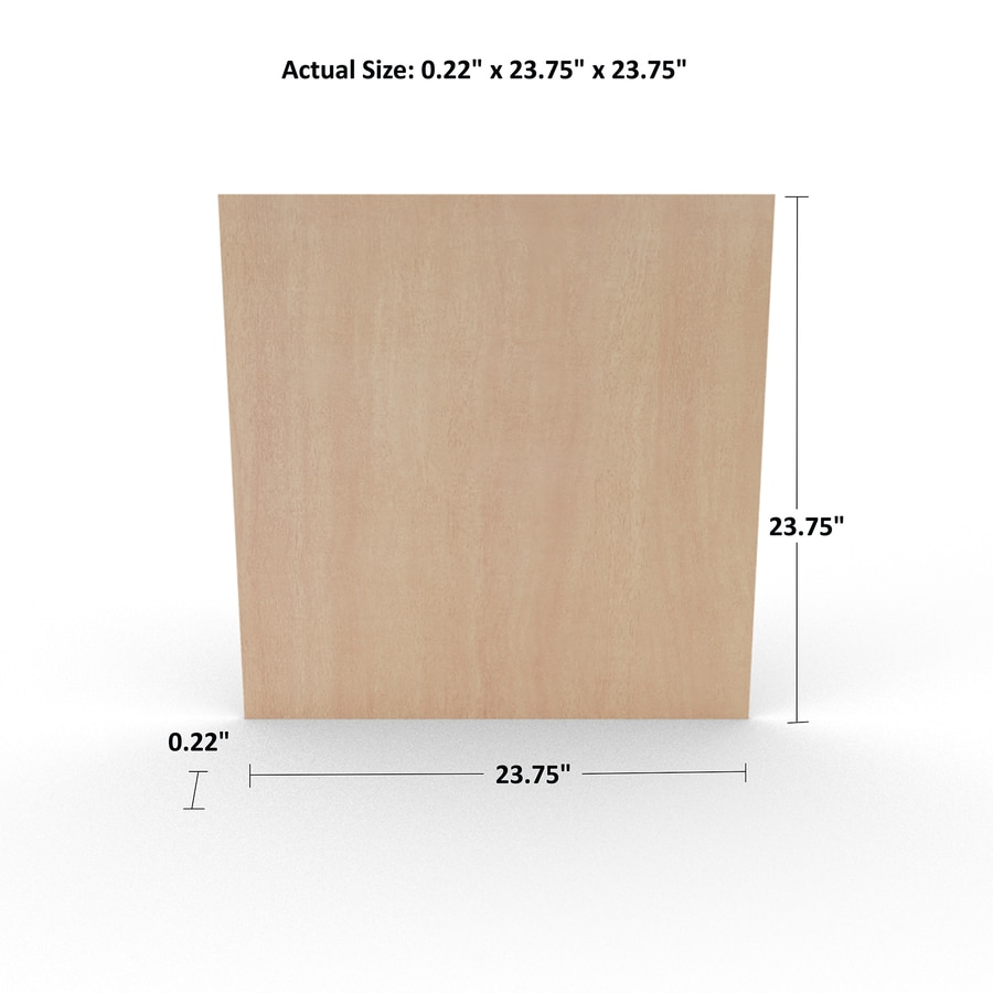 1/4-in Lauan Plywood, Application as 2 x 2