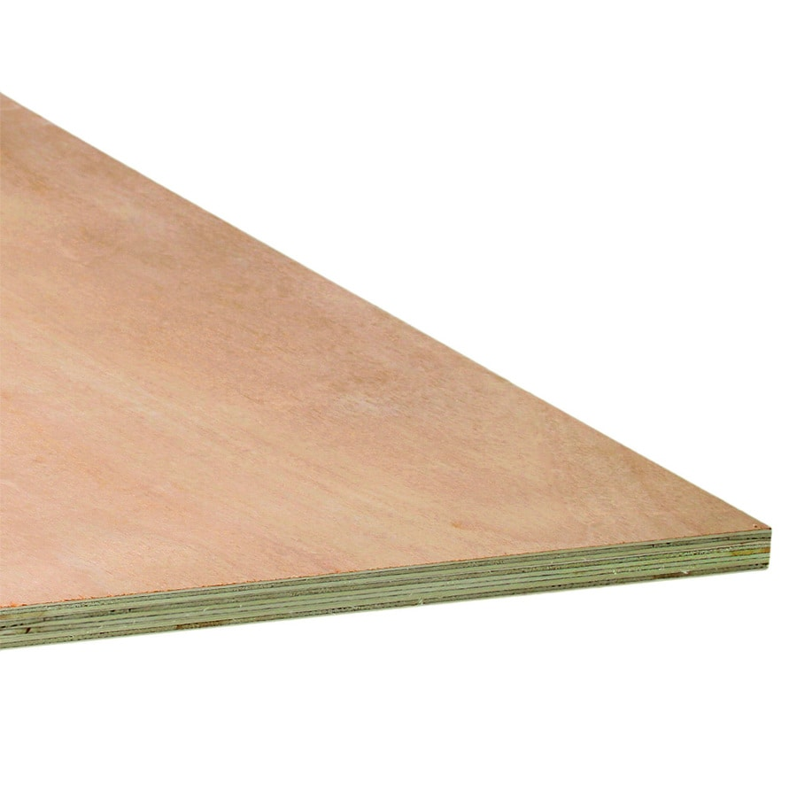 3/4-in Common Lauan Plywood, Application as  2 x 4