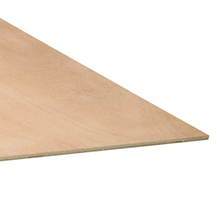 1/4-in  Lauan Plywood Application as 2 X 4