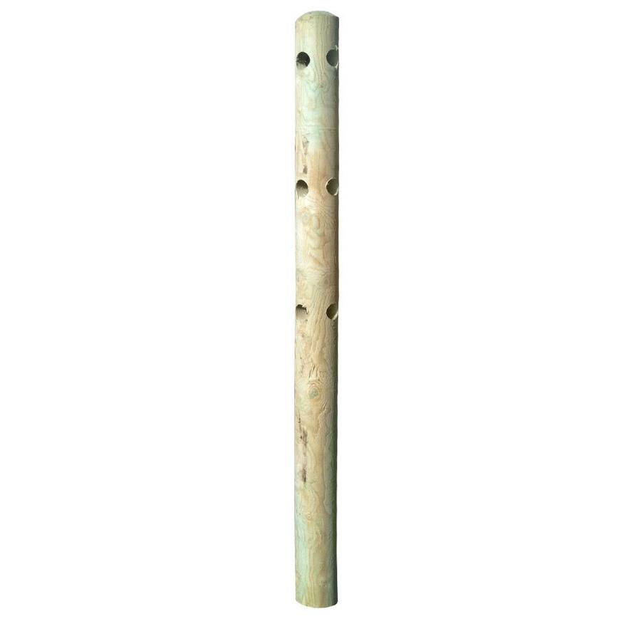 Natural Pressure Treated Spruce Fence Corner Post (Common: 5-in x 5-in x 6-1/2-ft; Actual: 5-in x 5-in x 5-in x 6.5-ft)