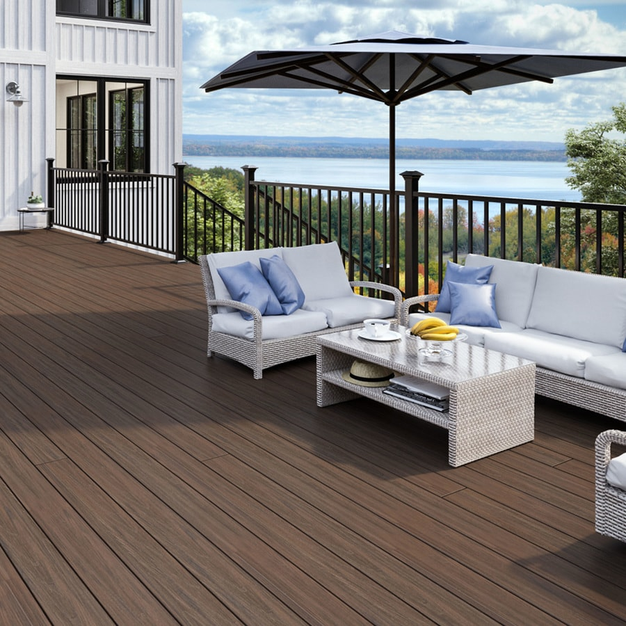 Deckorators Aluminum Deck Baluster (Actual: 0.75-in x 0.75-in x 26-in)