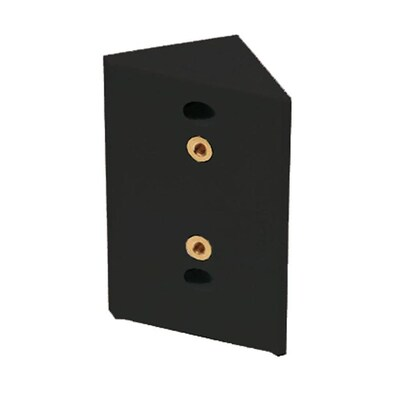 Deckorators Black Nylon Stair Post Connector at Lowes com