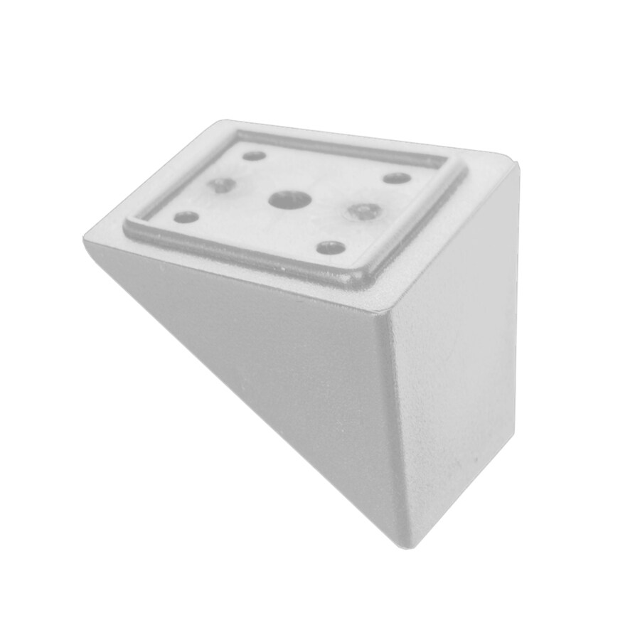 Deckorators White Plastic Baluster Stair Connector