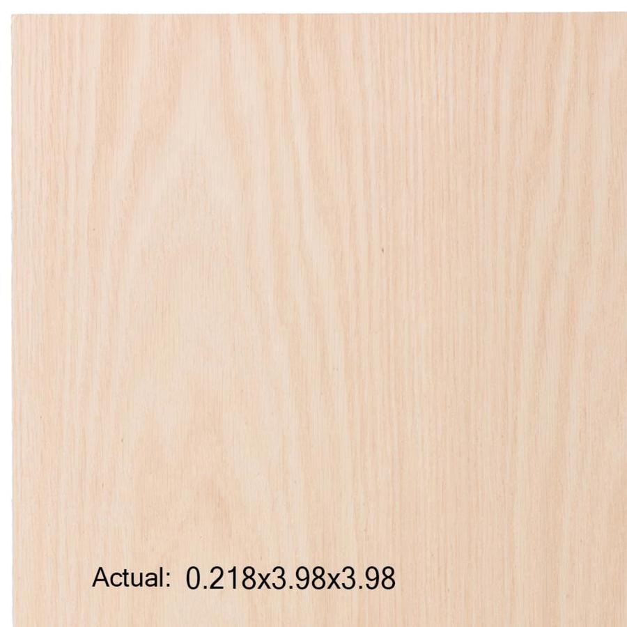 1/4-in Common Oak Plywood, Application as  4 x 4