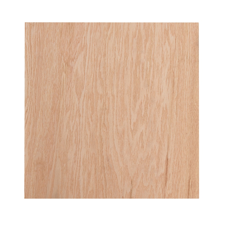 1/4-in Oak Plywood, Application as 2 x 2