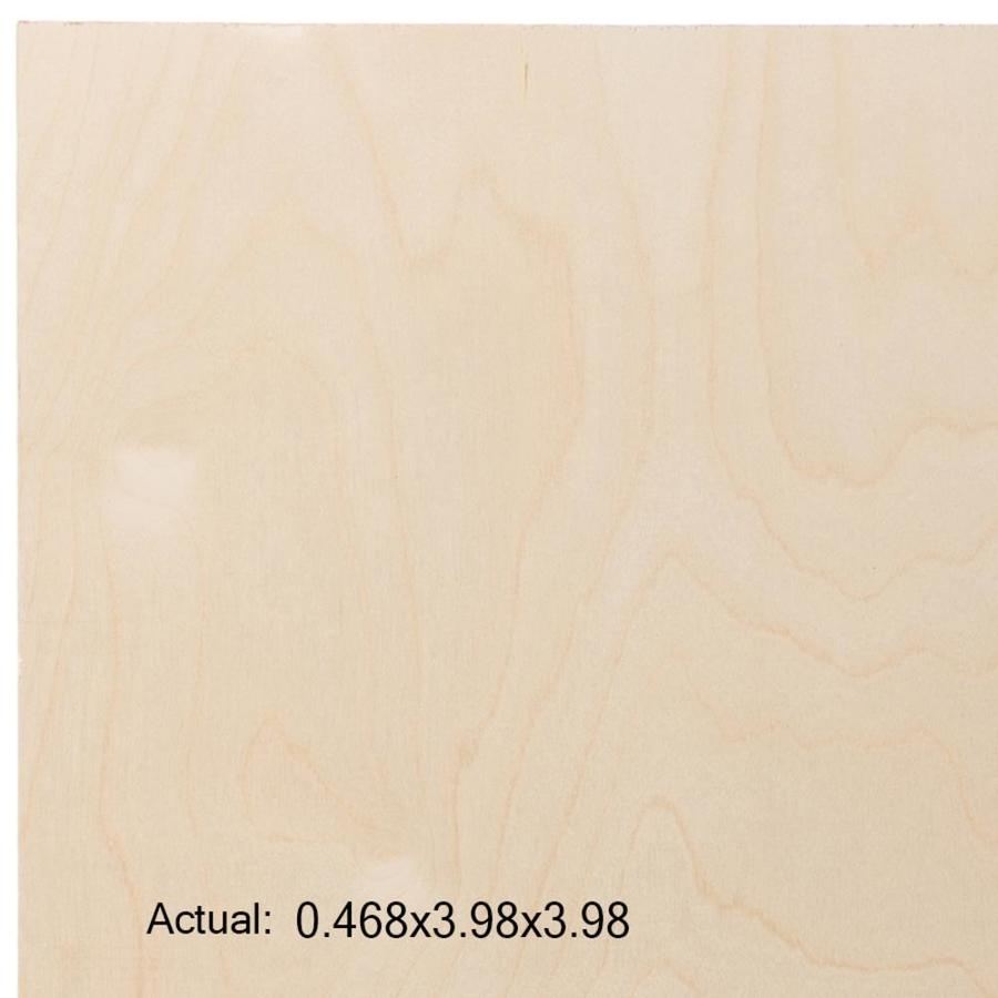 1/2-in Birch Plywood, Application as 4 x 4