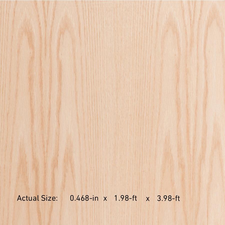 1/2-in Oak Plywood, Application as 2 x 4