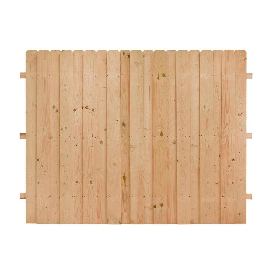(Common: 6-ft x 8-ft; Actual: 6-ft x 8-ft) Natural Cedar Privacy Fence Panel