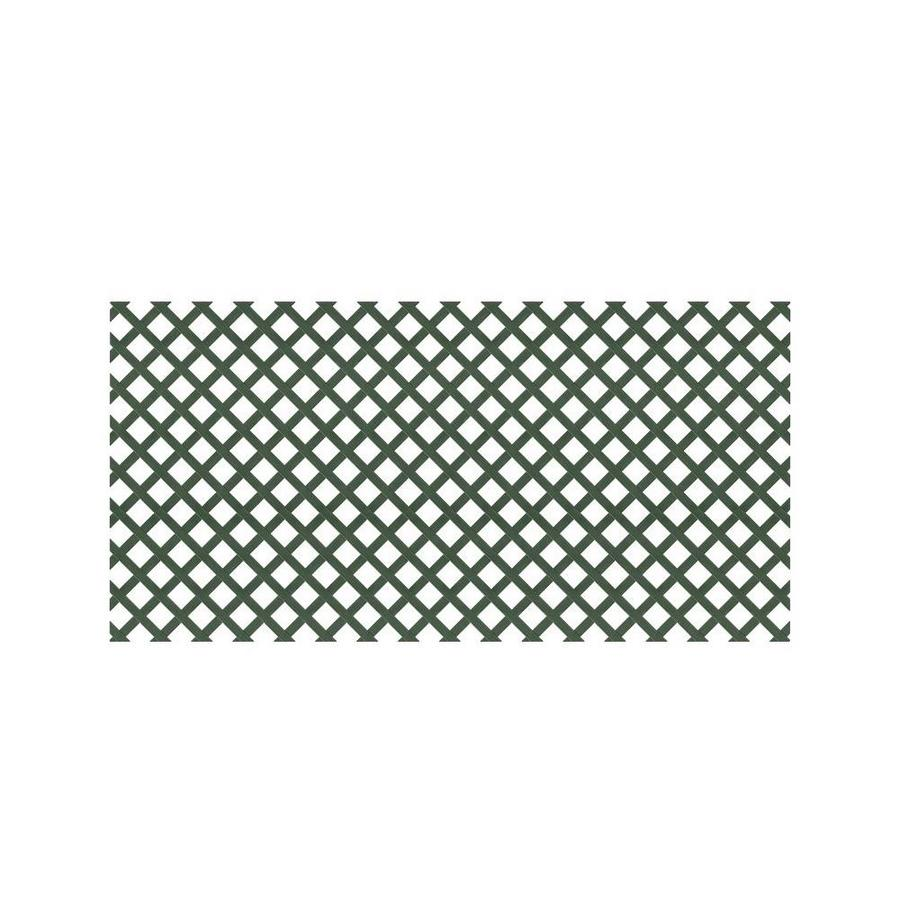 Dimensions (Common: x 48-in x 8-Ft; Actual: 0.125-in x 47.5-in x 7.91-ft) Dark Green Plastic (Not Wood) Traditional