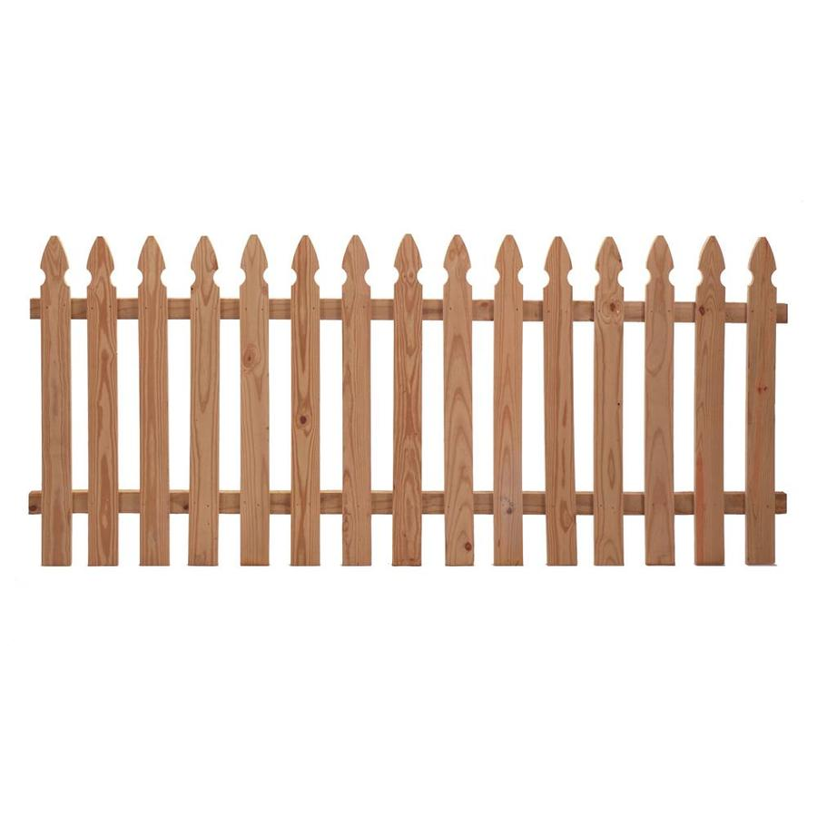 Severe Weather (Common: 3.5-ft x 8-ft; Actual: 3.375-ft x 7.97-ft) Natural Incense Cedar Privacy Fence Panel