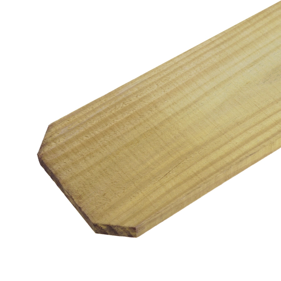 Severe Weather (Common: 3/4-in x 5-1/2-in x 6-Ft; Actual: 0.75-in x 5.5-in x 6 Feet) Natural Pressure Treated Pine Fence Picket