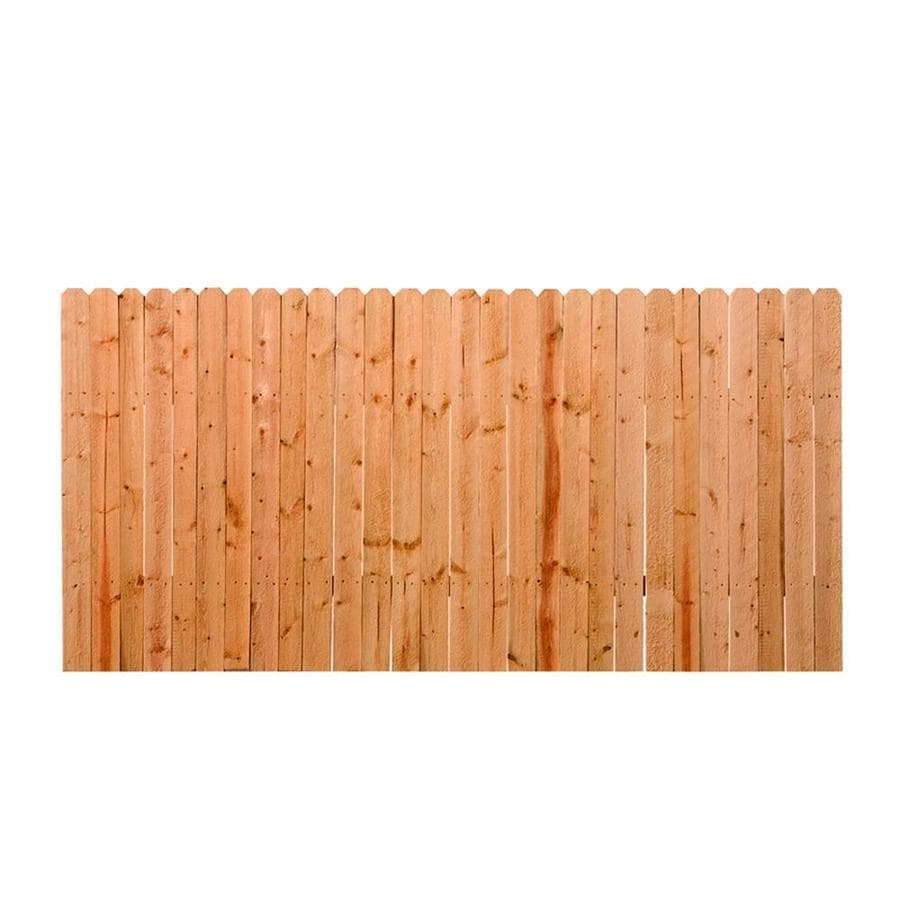 (Common: 4-ft x 8-ft; Actual: 4-ft x 8-ft) Natural Pressure Treated Spruce Privacy Fence Panel