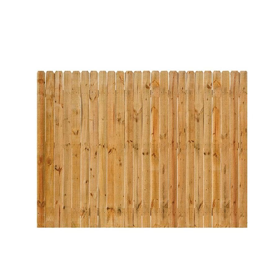 Severe Weather (Common: 6-ft x 8-ft; Actual: 6-ft x 8-ft) Natural Western Red Cedar Privacy Fence Panel