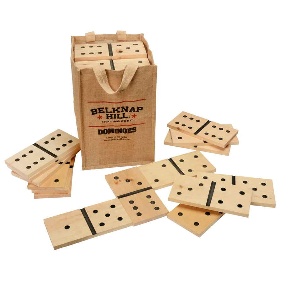 Belknap Hill Trading Post Indoor/Outdoor Dominos Party Game Case Included