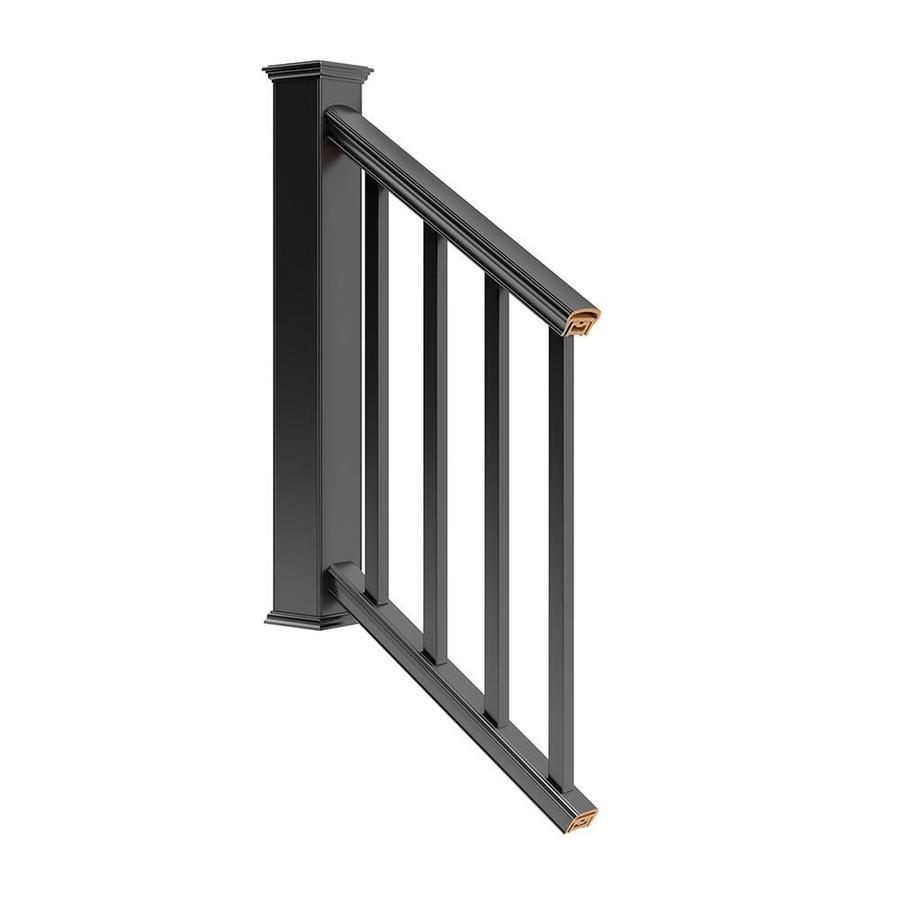 Deckorators (Assembled: 6 x 2.75) Black Deck Railing Kit