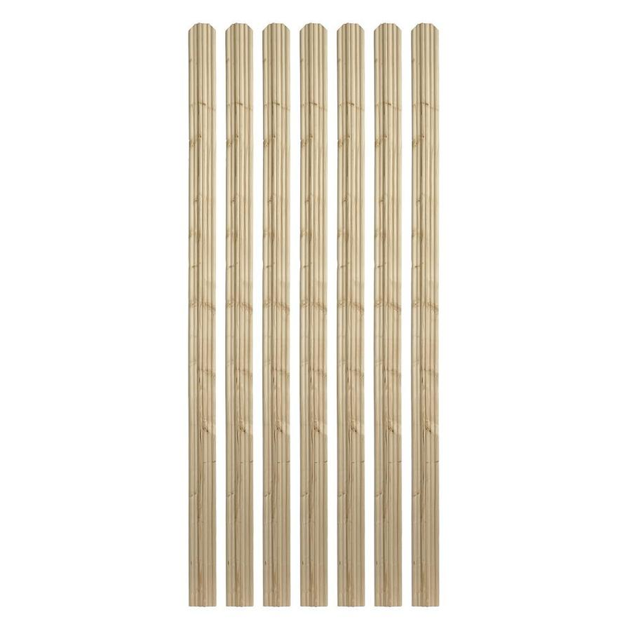 Severe Weather (Common: 1/2-in x 4-in x 6-ft; Actual: 0.5-in x 3.375-in x 6-ft) Natural Pressure Treated Pine Fence Picket