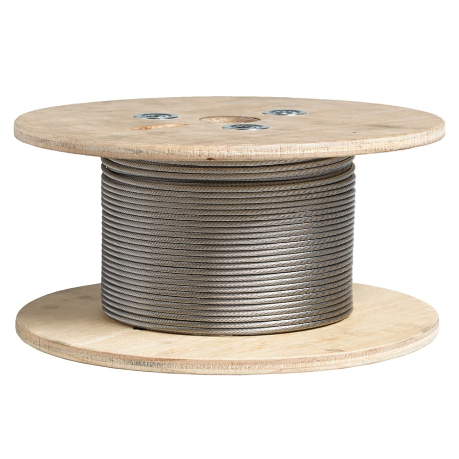Deckorators (Actual: 1/8-in x 500-ft) Stainless Steel Cable