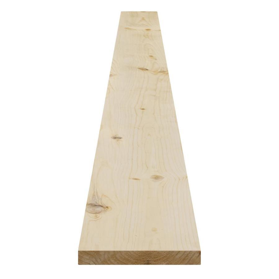 (Common: 1-in X 6-in x 12-ft; Actual: 0.75-in x 5.5-in x 12-ft) Spruce Pine Fir Board