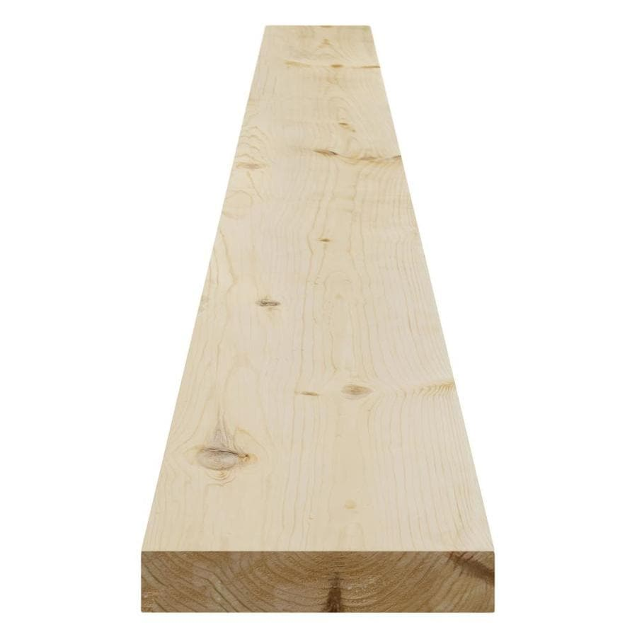 (Common: 2-in x 8-in x 16-ft; Actual: 1.5-in x 7.25-in x 16-ft) Pattern Stock Spruce Pine Fir Board