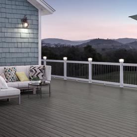 Shop composite deck boards at for Composite decking brands