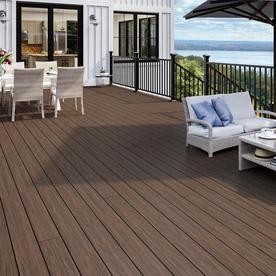 Deckorators Tropics 8 08 Ft Hana Brown Composite Deck Board
