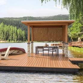 Frontier Composite Deck Boards at Lowes com