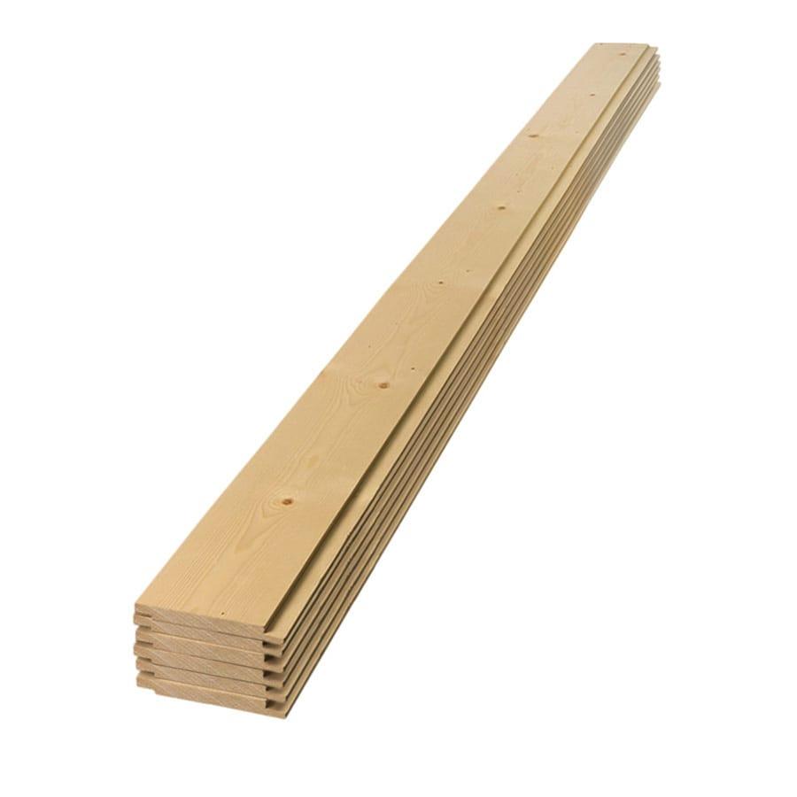 Ufp Edge Shiplap 9 25 Sq Ft Wood Shiplap Wall Plank Kit At