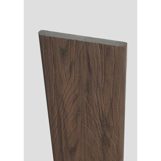 Deckorators Tropics 12 Ft Hana Brown Square Composite Fascia Deck Board In The Composite Deck Boards Department At Lowes Com