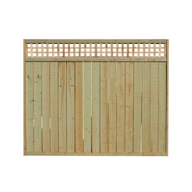 Unbranded S1s2e 6 Ft X 6 Ft Redwood Horizontal Good Neighbor Fence Panel 73094 The Home Depot