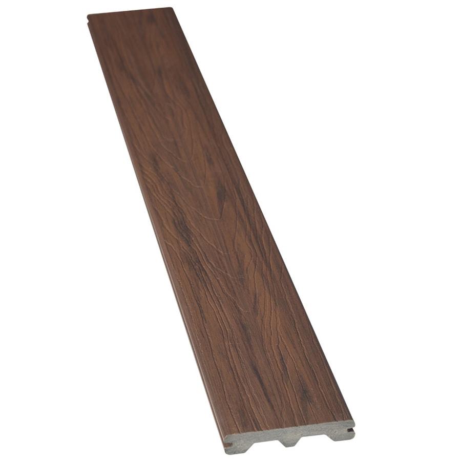 Shop tropics hana brown deck board sample at for Who makes tropics decking