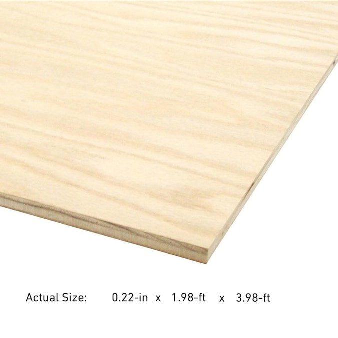 1 4 In Maple Plywood Application As 2 X 4 In The Plywood Department At Lowes Com