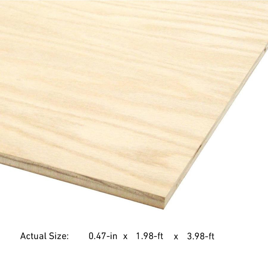 Shop in maple plywood application as at lowes