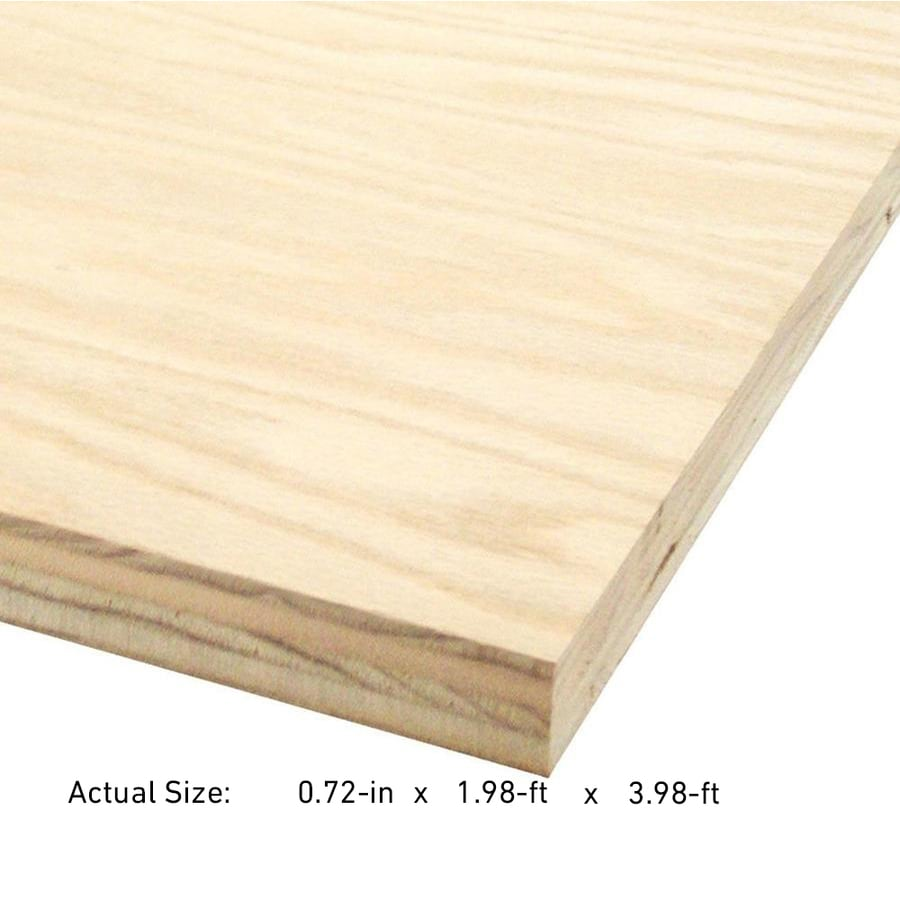 3/4-in Maple Plywood, Application as 2 X 4