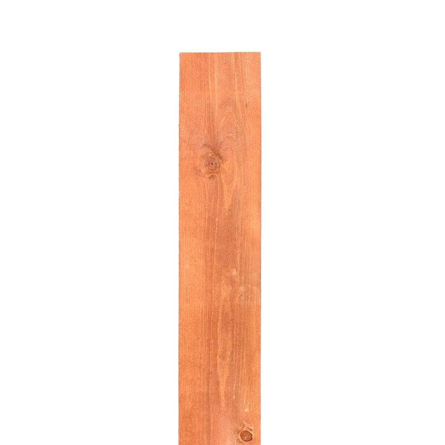(Common: 1-in x 6-in x 6-ft; Actual: 0.625-in x 5.5-in x 6-ft) Stained Douglas Fir Fence Picket