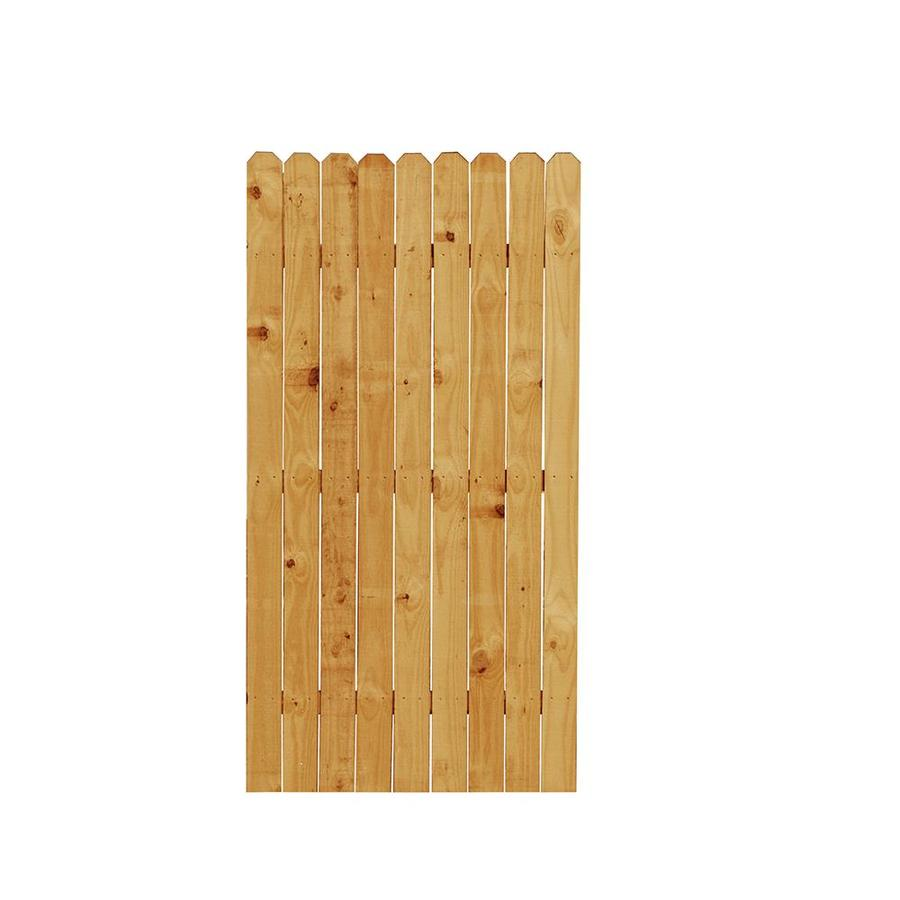 (Common: 6-ft x 3-ft; Actual: 6-ft x 3-ft) Wood Western Red Cedar Privacy Gate