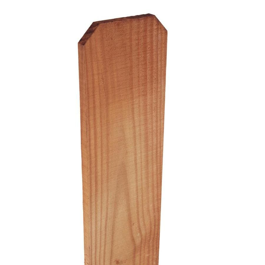 Severe Weather (Common: 1-in x 6-in x 6-ft; Actual: 0.625-in x 5.5-in x 6-ft) Western Red Cedar Fence Picket