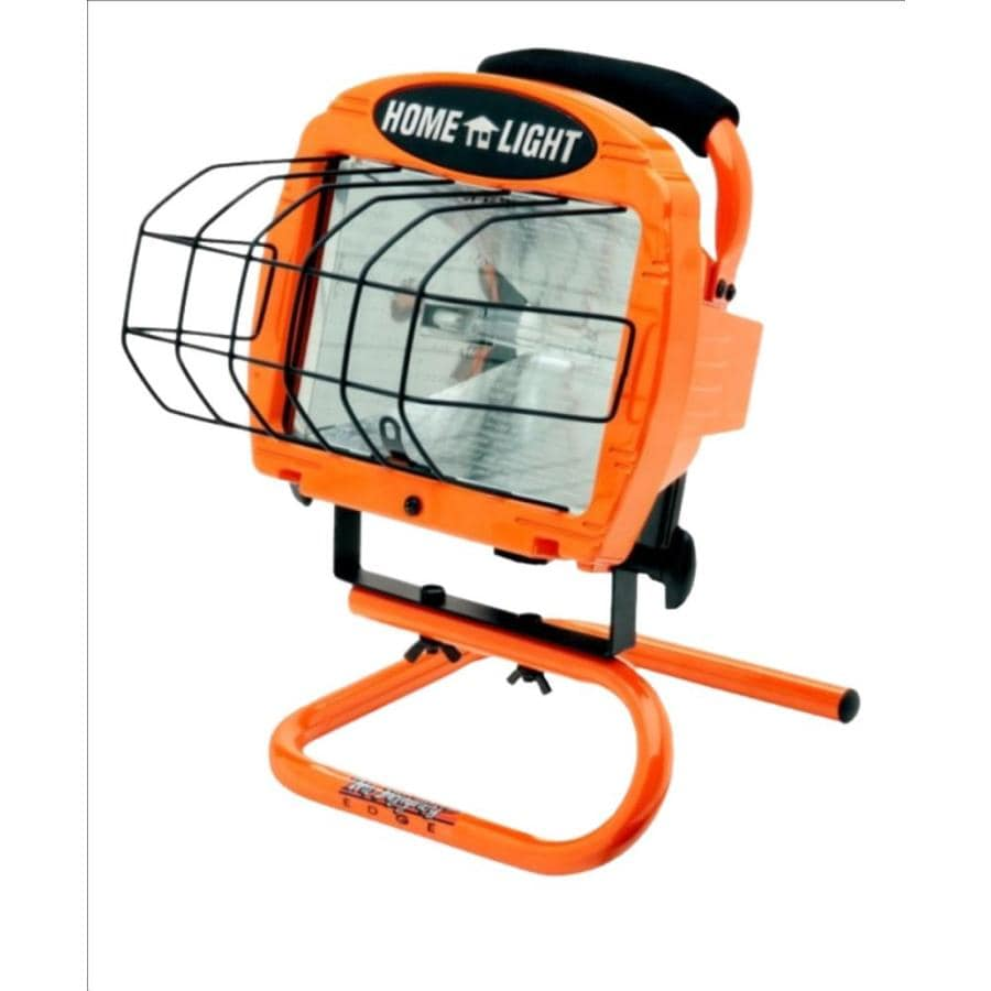 Craftsman 500 Watt Halogen Worklight: Shop Designers Edge 1-Light 500-Watt Halogen Portable Work