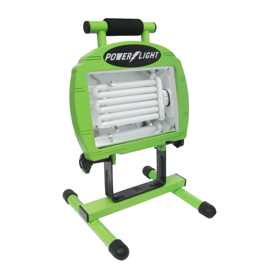 Designers Edge 1-Light 65-Watt Fluorescent Portable Work Light