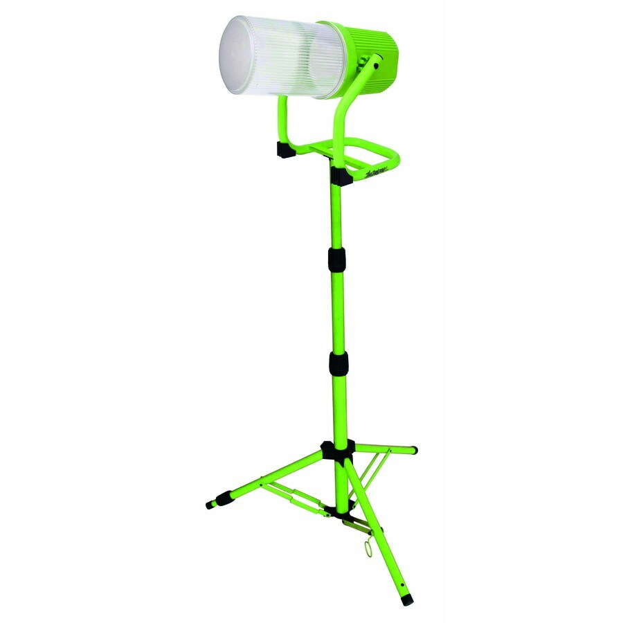 Designers Edge Portable Fluorescent Work Light: Shop Designers Edge 1-Light 65-Watt Fluorescent Stand Work