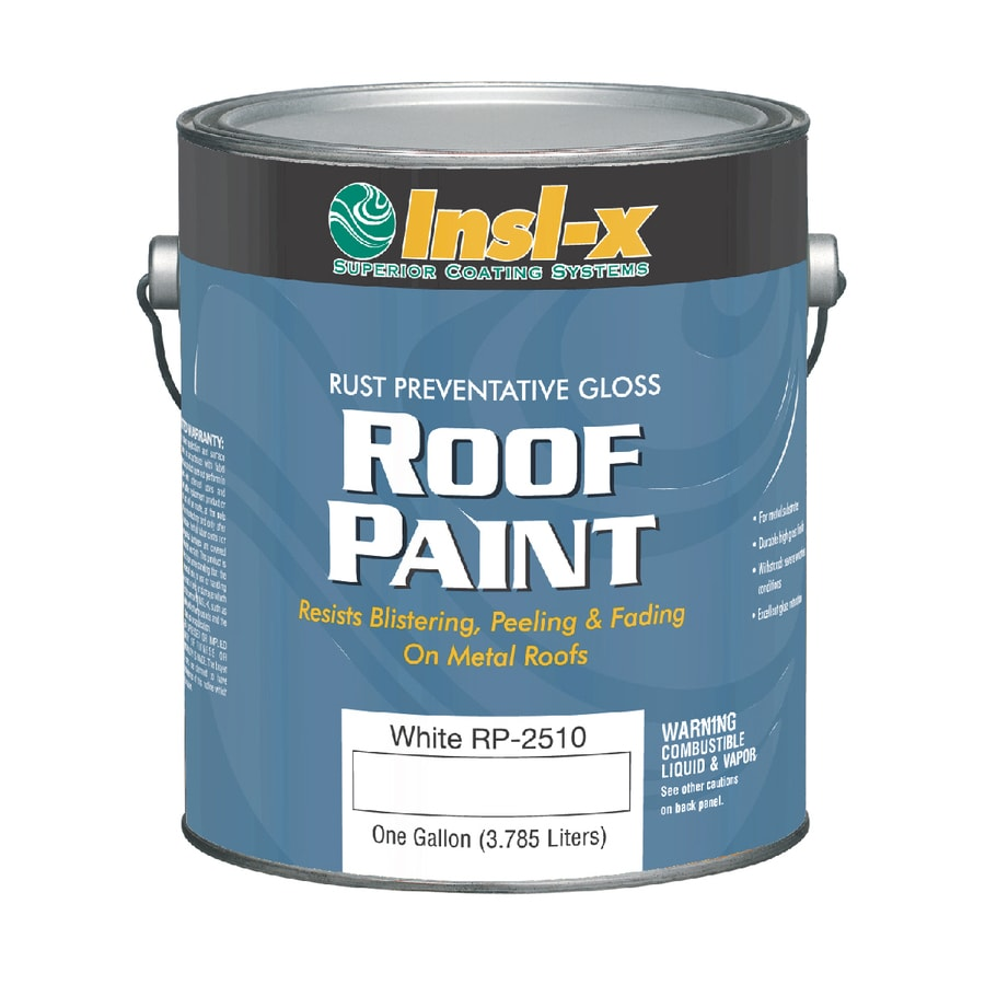 Insl-x 1-Gallon Exterior Gloss White Oil-Base Paint and Primer in One